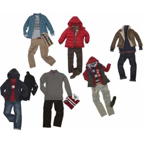 Fardo ropa  niños invierno DIRECTO USA
