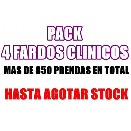 PACK 4 FARDOS UNIFORMES CLINICOS