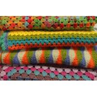 crochet cobertores pieceras  y otros PRIMERA