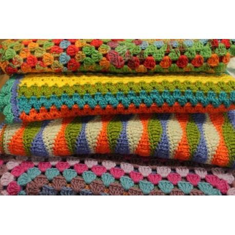 crochet cobertores pieceras  y otros DIRECTO USA